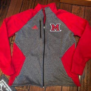 Adidas Miami University of Ohio jacket size L